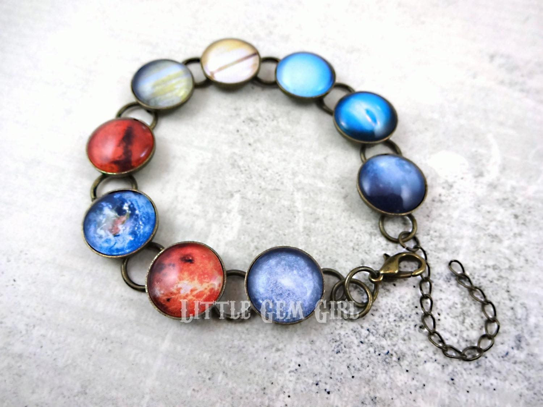 solar system bracelet - photo #17