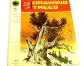 Art of Drawing Trees by Walter Brooks Grumbacher Library VIntage How to Draw Paperback Book 1966 itsyourcountry