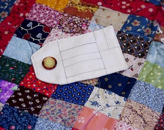 DIY Quilt Labels Permanent Lines on Cotton Fabric Handmade By Tags Personalize Your Handmade Creations itsyourcountry