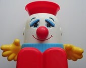 Vintage Shelcore Humpty Dumpty Play Pal Toy 1986
