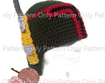 Bounty Hunter Helmet Pattern - Pattern Only
