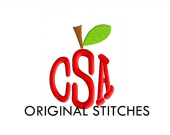 Apple Border Machine Embroidery Design From Greatnotionsdesigns On