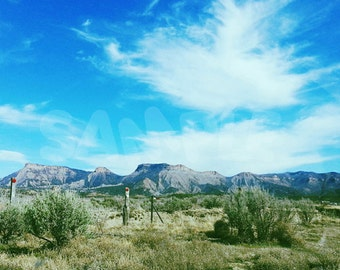 Travel Colorado - Mesa Verde Cortez Photograph Poster Print