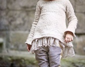 Margot Knit Dress and Tunic PDF Pattern & Tutorial, All sizes 2t-10 years included