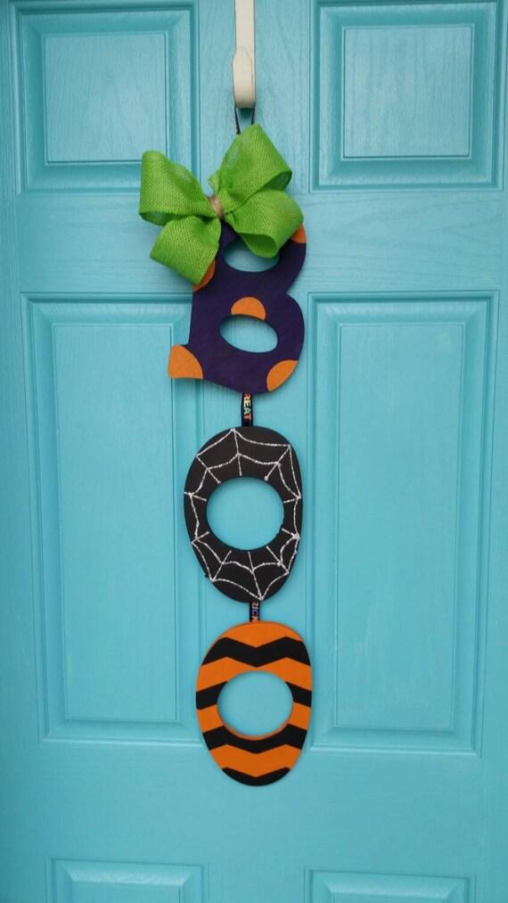 BOO Halloween Door Hanger halloween decor halloween door ~ 230255_Halloween Door Hanging