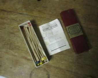 Vintage Nobby Sticks., by Milton Bradley 1937. Cool old game