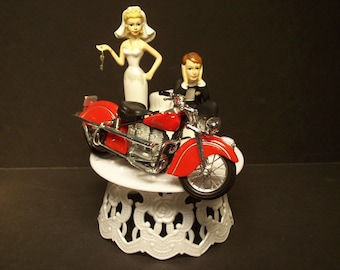 indian motorcycle wedding cake topper unavailable listing on etsy 16404
