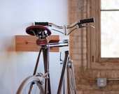 Cedar and Birch Bike Rack by Elevate Woodworks