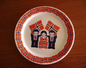 Patriotic Plate from Norway by Porsgrund