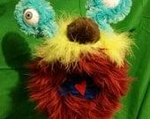 Murray the Alien Monster Hand Puppet