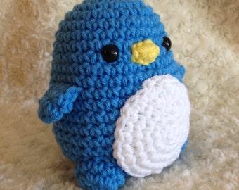 Crochet Penguin Amigurumi Animal - Handmade Winter Plush - Penguin Plush - Plushie Penguin - Amigurumi Penguin - Stuffed Penguin