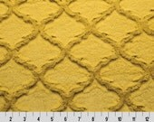 Antique Embossed Quatrefoil Minky From Shannon Fabrics