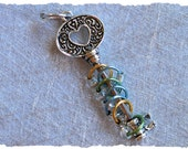 Stitch Marker Holder - Heart & Key