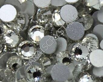 300 pcs Czech Flatbacks Crystal Clear Chaton  16ss (4.0mm) Czech SS16