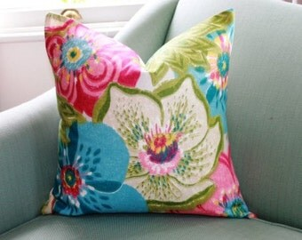 Blooming 20 Inch Cushion Pillow Cover