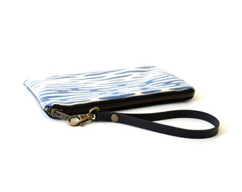 Eco Friendly Wrist Purse with Leather Strap