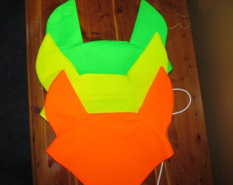 Cobb/Draft/Horse size - Ear Me Now Safety High Visibility Fly Bonnets