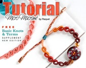ENGLISH MicroMacrame Pattern bracelet waves Macrame PDF