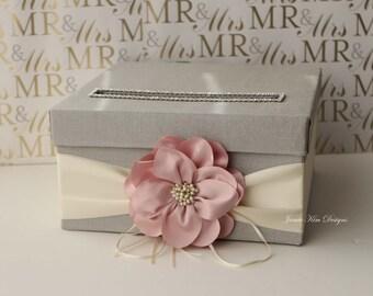 Wedding Card box, Money Card Box, Wishing well (Small Size) - Custom Made