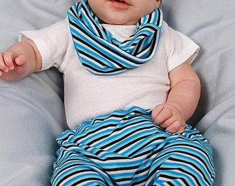 Boys Harem Pants With Matching Cowl Neck Scarf