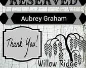 Custom order for Aubrey