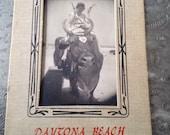 Vintage Bull Ride Souvenir Photo from Daytona Beach Florida