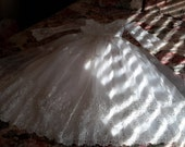 Vintage Formal White Dress For A Young Girl
