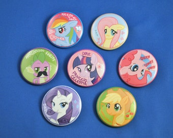 MY LITTLE PONY Buttons!