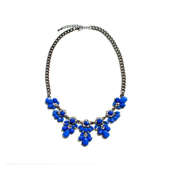 Blossom Necklace - Blue