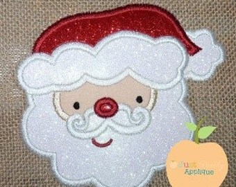 Kristi Santa Machine Embroidery Applique Design Buy 2 for 4! Use Coupon Code 50OFF
