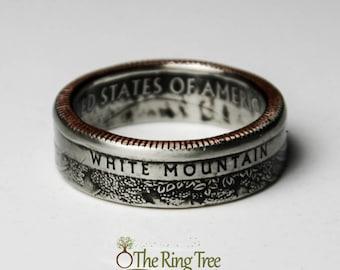 White Mountain National Park Quarter Ring