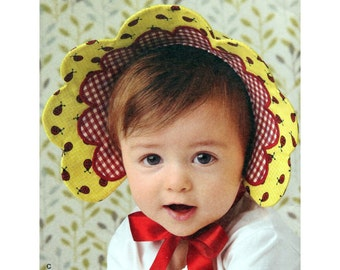 Baby Hats Bonnets Toddlers Pattern Simplicity 2908