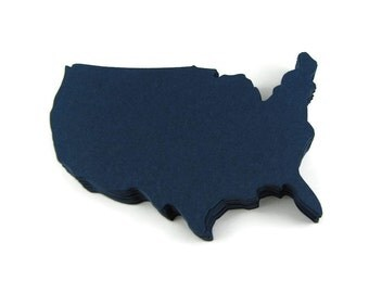 "2.75"" USA Die Cuts set of 25"