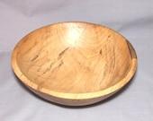 Lightly spalted Magnolia bowl, Item 10-1871