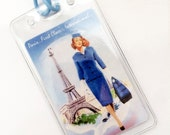 Vintage Inspired Luggage Tag