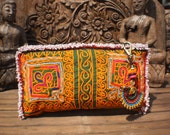 Tribal Afghan Vintage Textile Purse