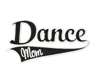 Dance Mom Embroidery Design for Hat or Patch