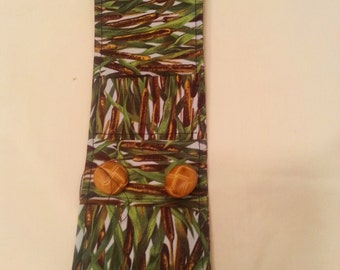 Custom Fabric Wrap Cuff Bracelet