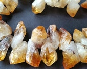 Special Offer 50% Off --- Natural Citrine Stone Beads / Natural Yellow / Transparent Color / Free Forms (t.au)(10-30-04)(20-30)