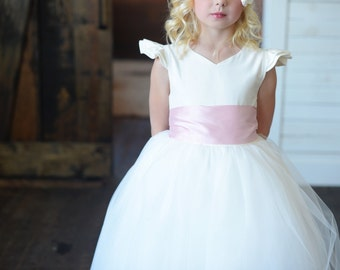 The Eynhallow Flower Girl Dress, first communion dress