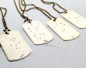 Constellation Dog Tag