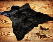 Faux Fur Bear Skin Rug / Fake Polar Bear Hide / Black Bear/ Grizzly Bear Pelt Rug / All New Sizes and Colors