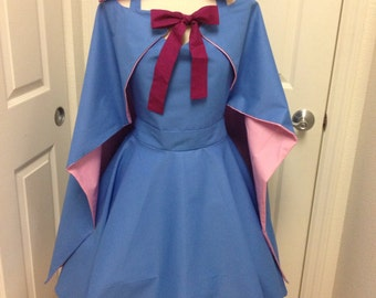 Fairy Godmother apron with cape