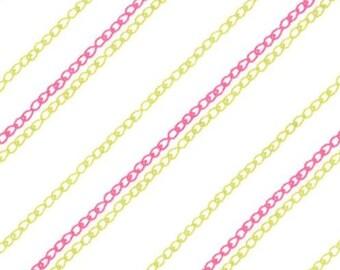 Moda - Aneela Hoey - Sew Stitchy - Chain Stitch - Olive/Pink