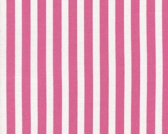 Timeless Treasures - Tribeca - Pink/White Stripe