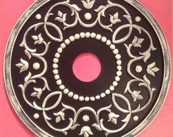 Ceiling Medallion Vine Design 18""