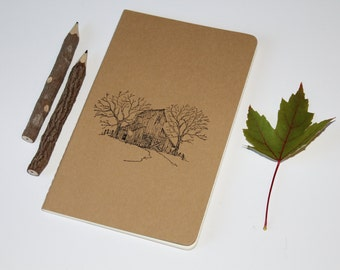 Old Country Barn Lined Journal