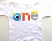 Monster Birthday Shirt First Birthday Boys Shirt or Onesie gift photo prop funny