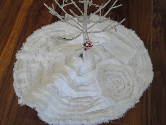 Christmas Tree Skirt French Country Table Tree Skirt By