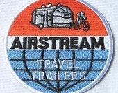 Airstream Travel Trailer RV Embroidered Patch